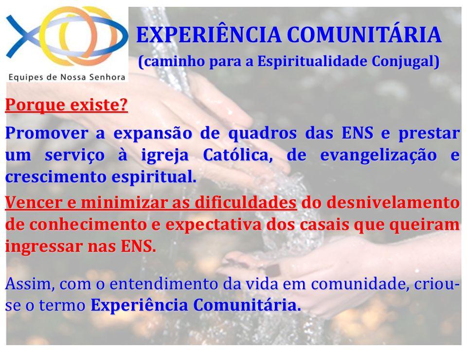 Porque existe? Promover a expansão de quadros das ENS e prestar um serviço à igreja Católica, de evangelização e crescimento espiritual. Vencer e mini