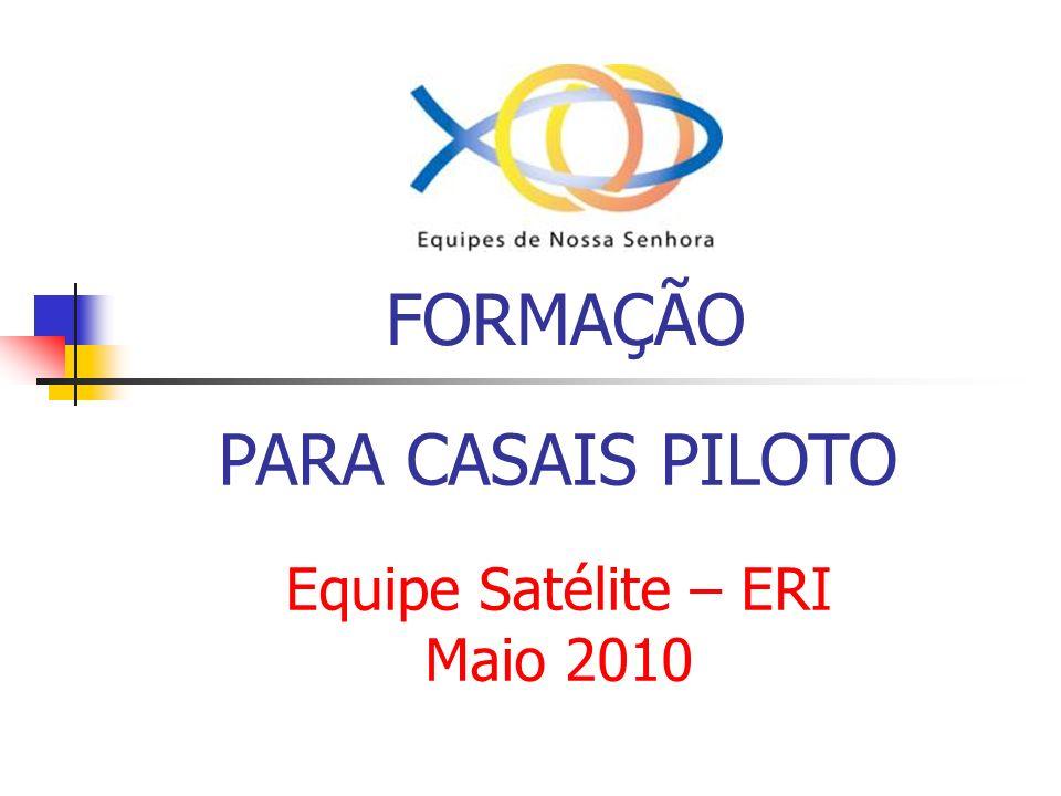 Nossa pilotagem Em 2006 pilotamos 7 casais em uma pilotagem paralela No setor ABC III, hoje Setor Santo André 1 casal desistiu na terceira reunião.
