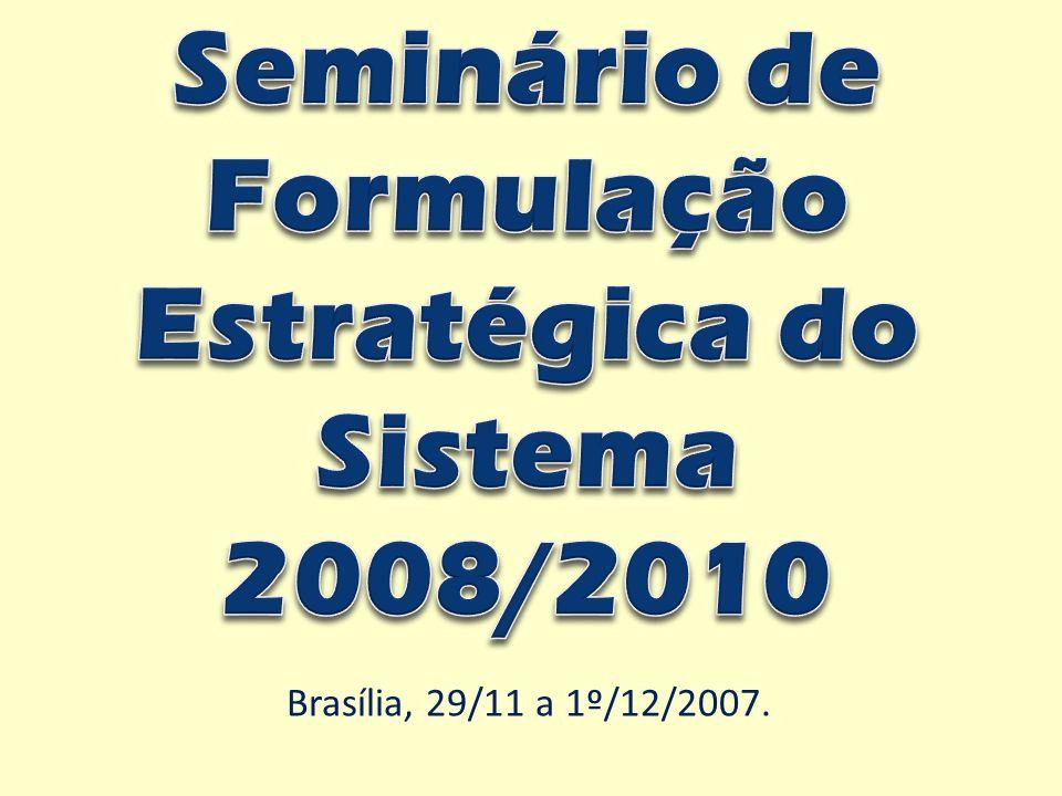 Brasília, 29/11 a 1º/12/2007.