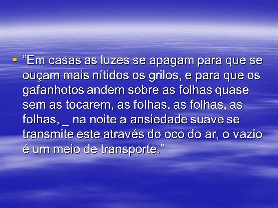 características Clarice Lispector é o principal nome da literatura Modernista de 1945, juntamente com Guimarães Rosa.