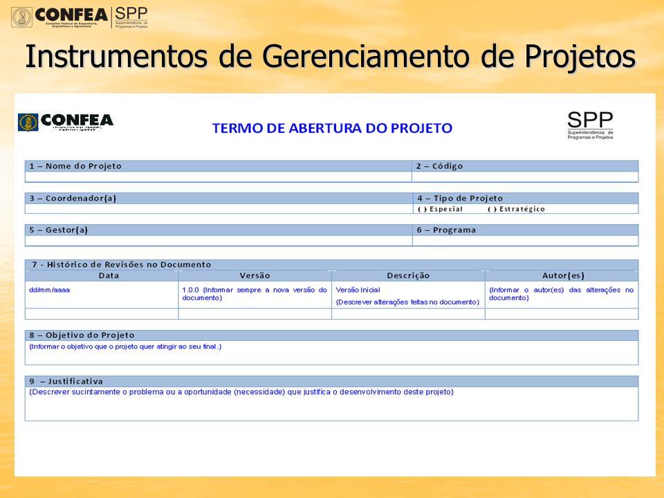 Instrumentos de Gerenciamento de Projetos