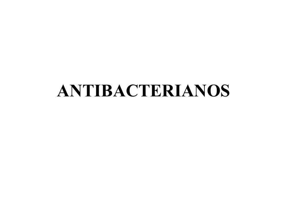 ANTIMICOBACTERIANOS Fármacos para tratamento da tuberculose: isoniazida rifampicina streptomicina etambutol pirazinamida quinolonas cicloserina