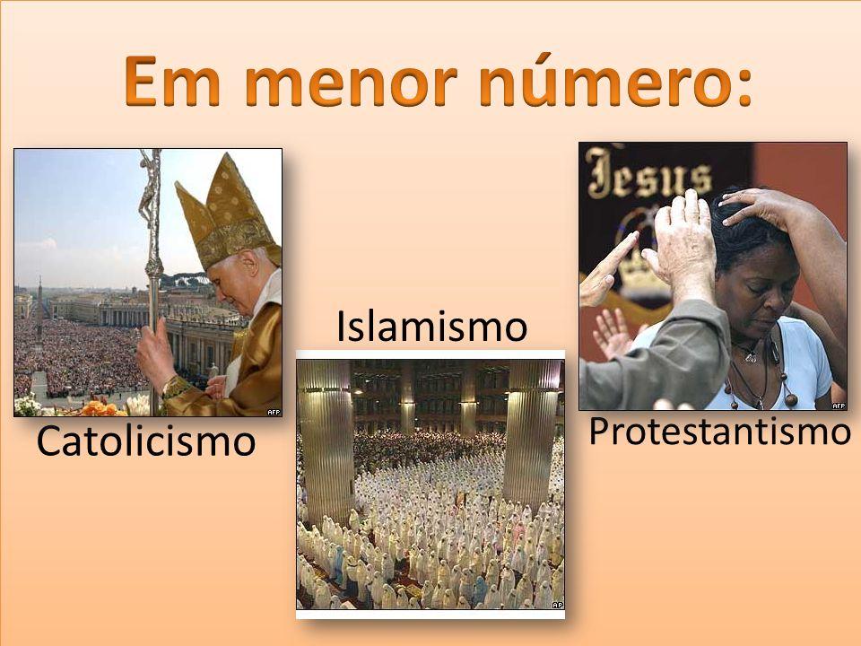 Protestantismo Islamismo Catolicismo