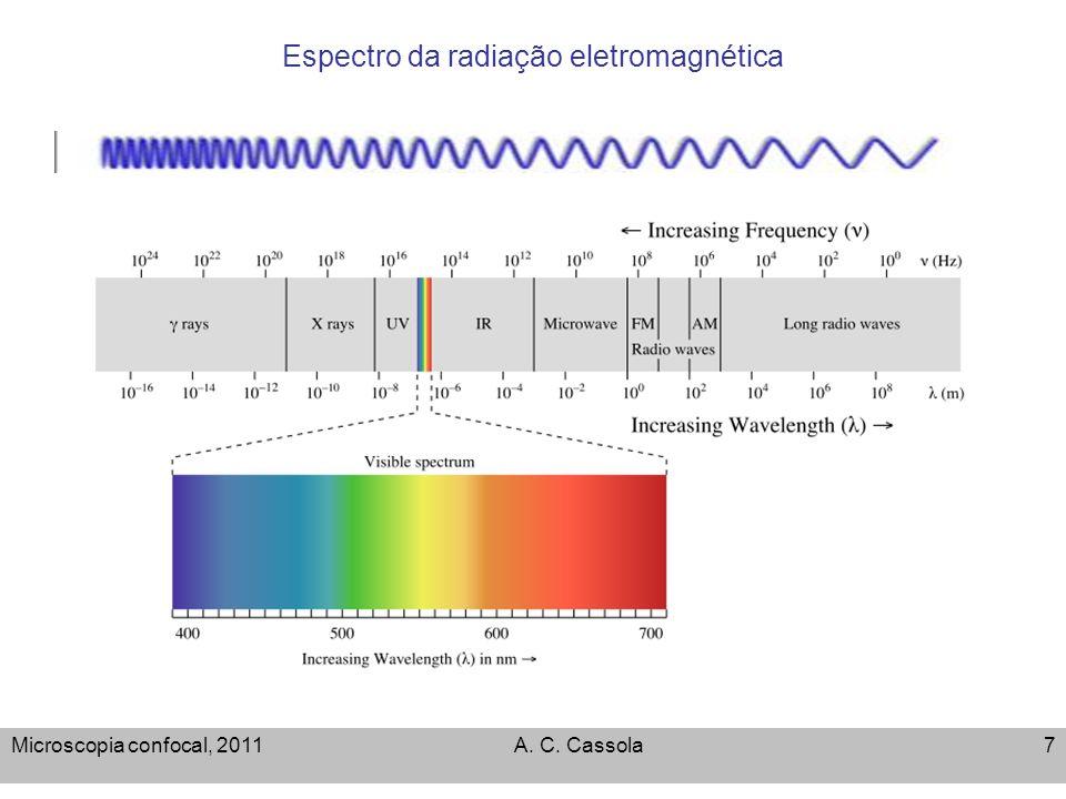 Microscopia confocal, 2011A. C. Cassola28 Microscopia de luz refletida
