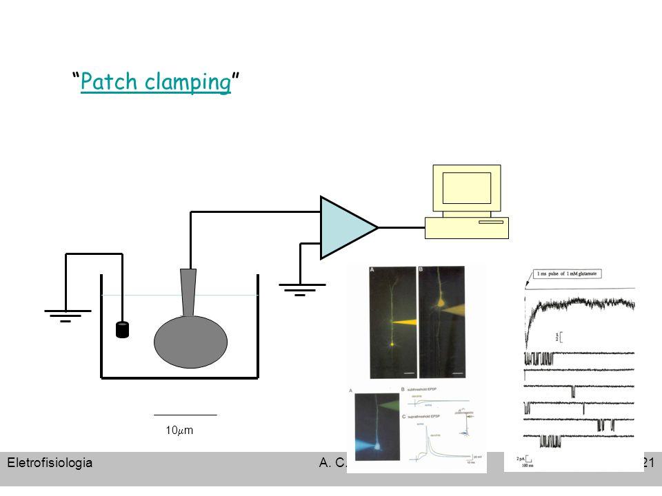 EletrofisiologiaA. C. Cassola21 10 m Patch clamping