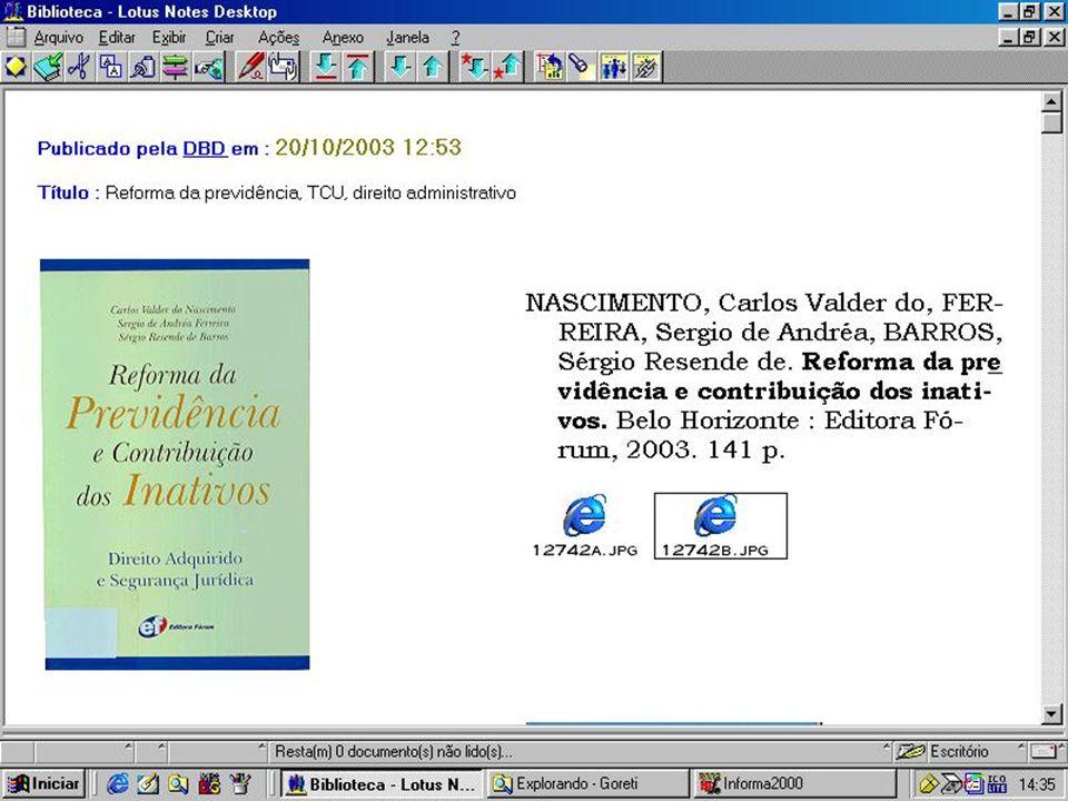 Tribunal de Contas do Município do Rio de Janeiro Divisão de Biblioteca e Documentação Rua Santa Luzia, 732 sala 805 - Centro 20.030-040 – Rio de Janeiro – RJ Telefone: (21) 3824-3647 Fax: (21) 2262-4411 E-mail: biblioteca.tcm@pcrj.rj.gov.brbiblioteca.tcm@pcrj.rj.gov.br Homepage: http://www.tcm.rj.gov.br/