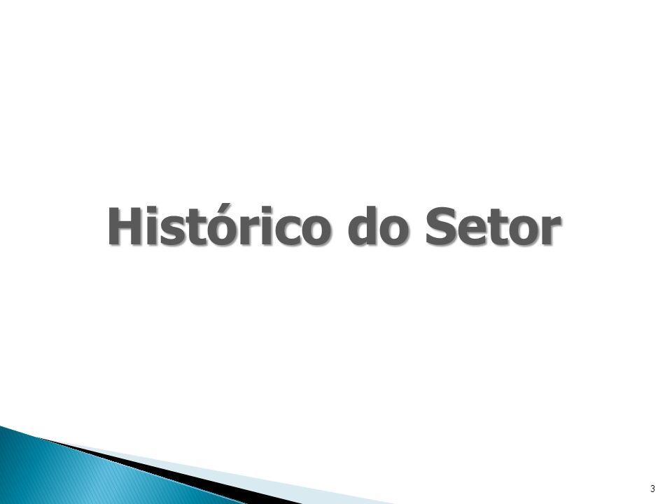 3 Histórico do Setor