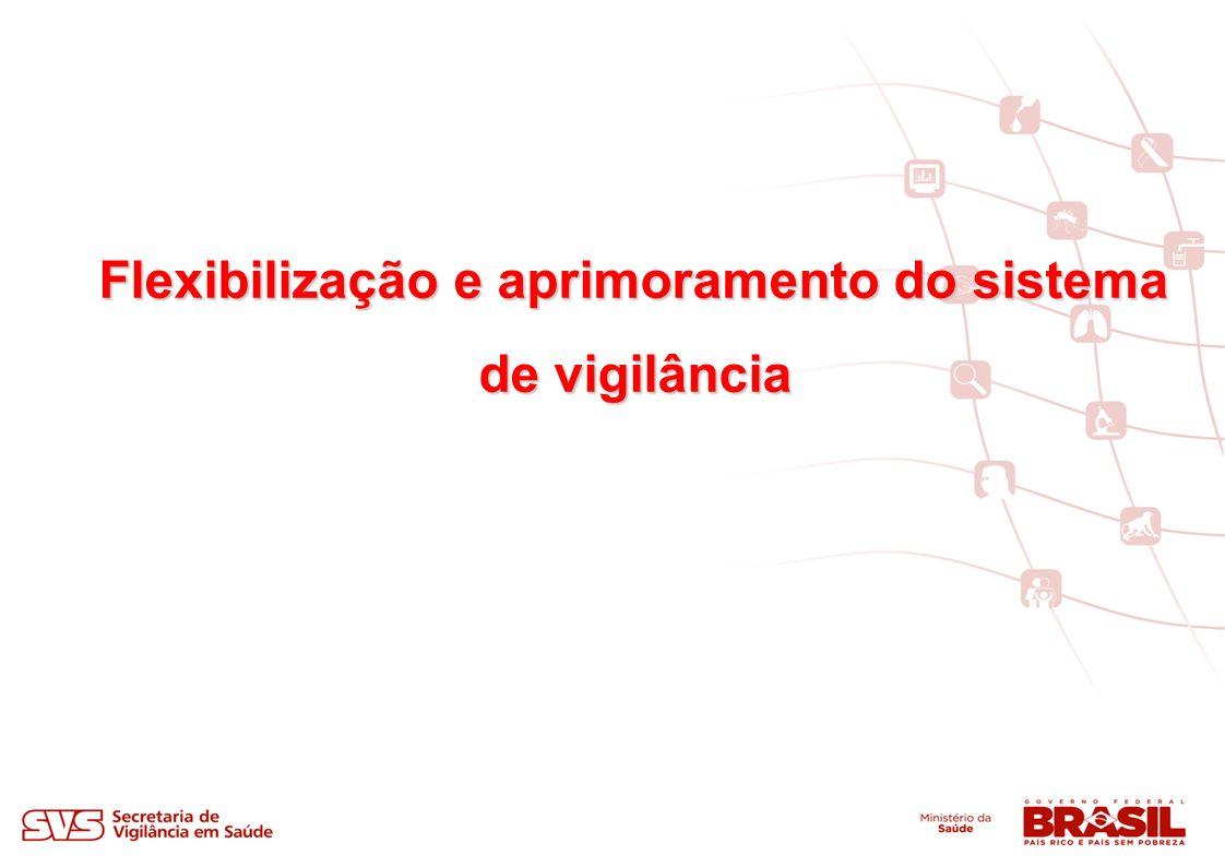 Flexibilização e aprimoramento do sistema de vigilância