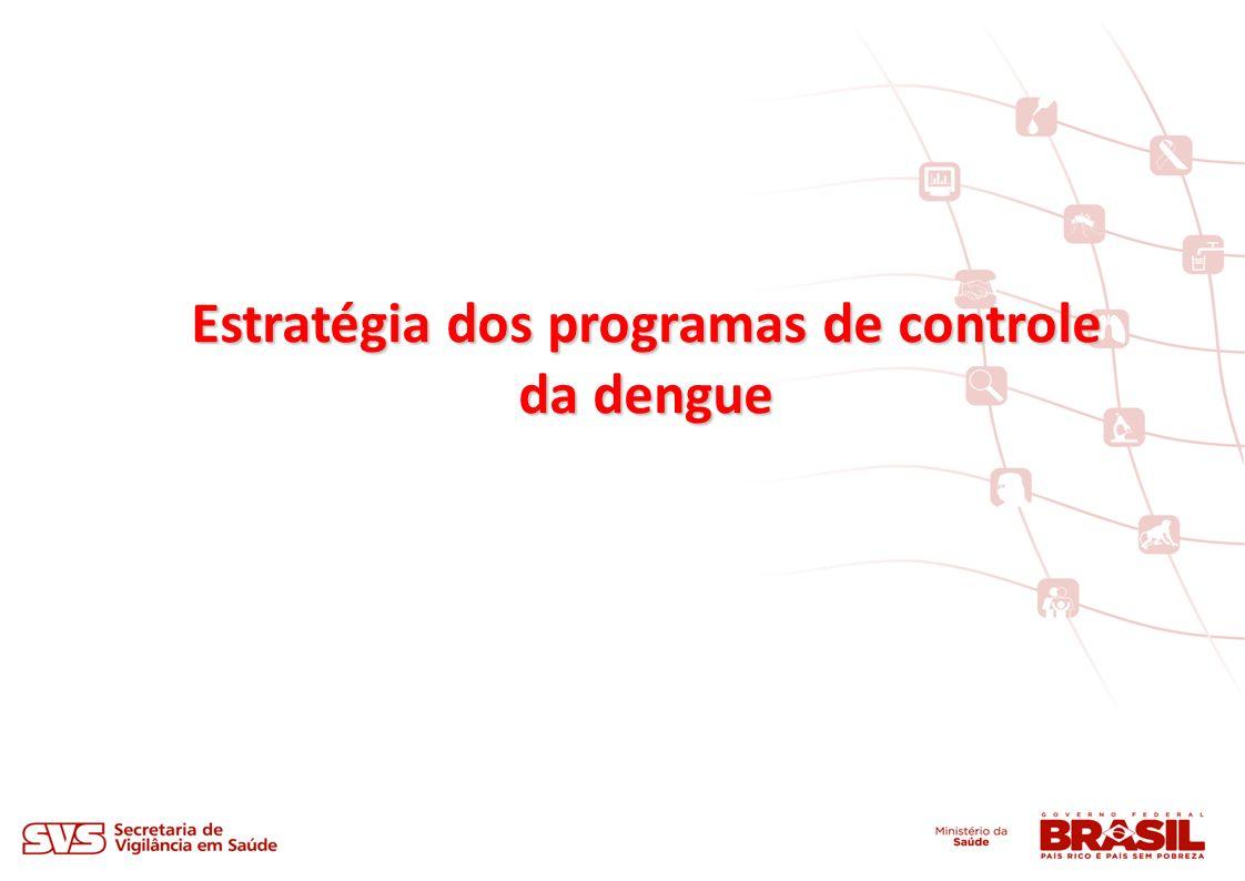 Estratégia dos programas de controle da dengue