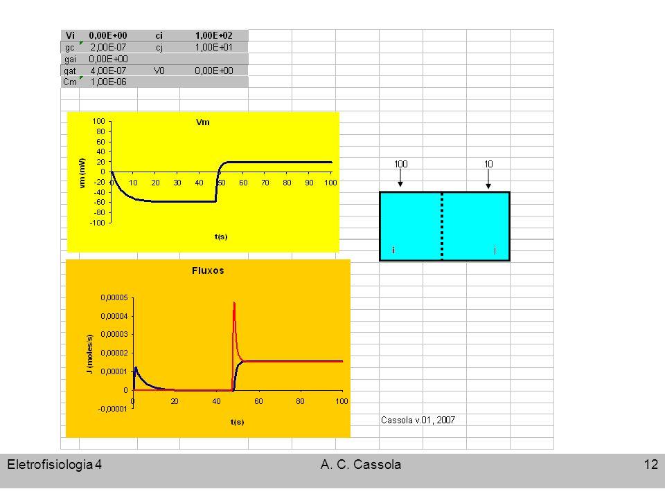 Eletrofisiologia 4A. C. Cassola12