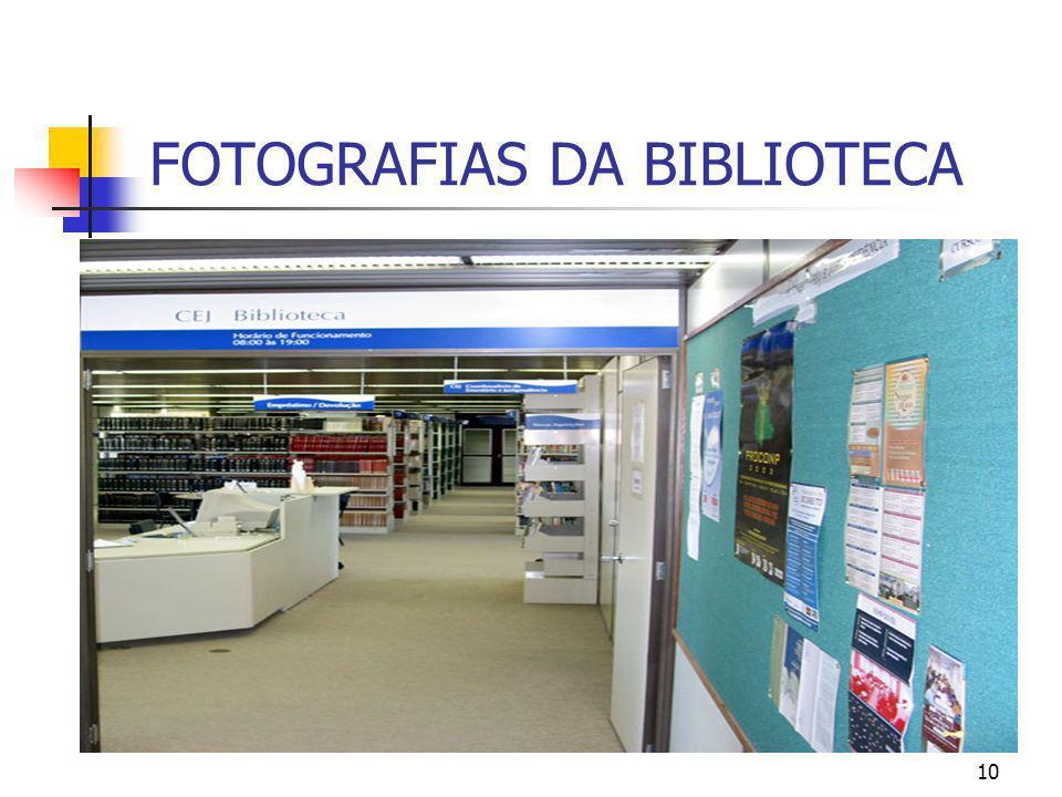 10 FOTOGRAFIAS DA BIBLIOTECA