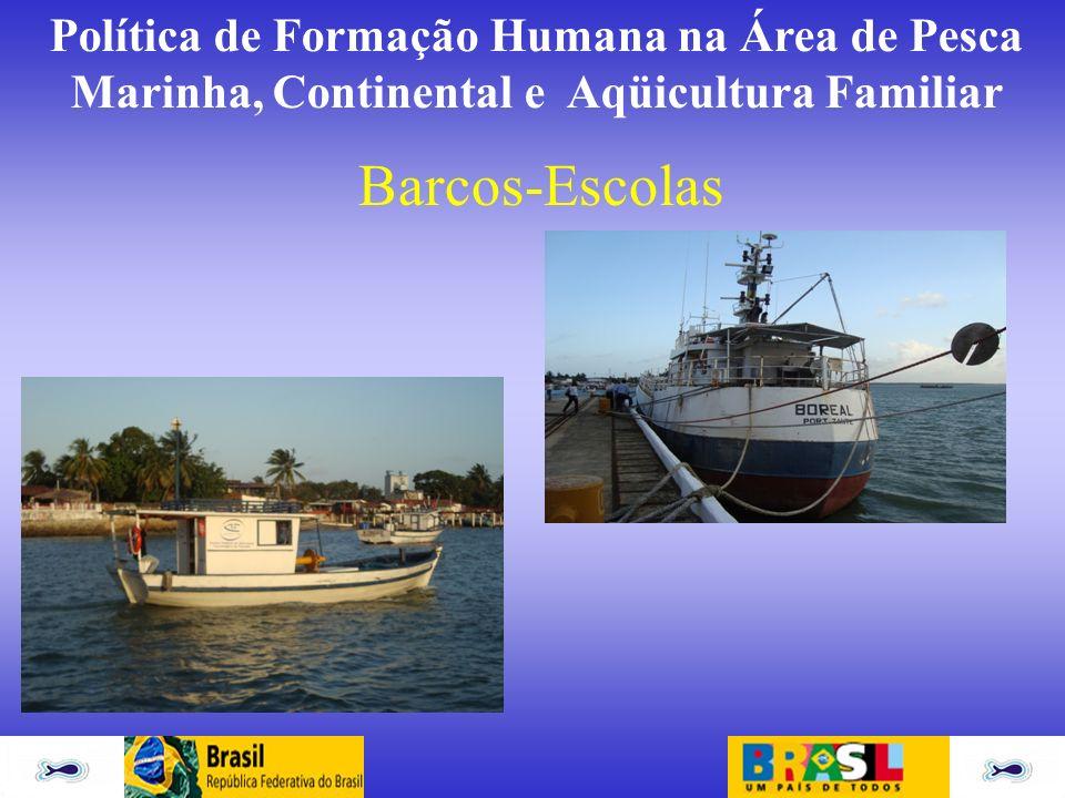 Política de Formação Humana na Área de Pesca Marinha, Continental e Aqüicultura Familiar Barcos-Escolas