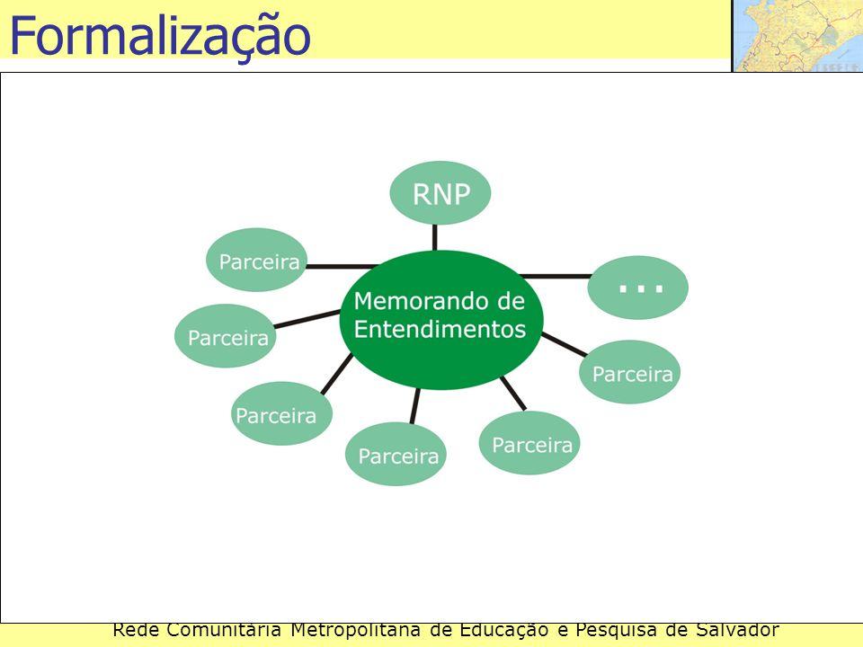 Rede Comunitária Metropolitana de Educação e Pesquisa de Salvador Formalização