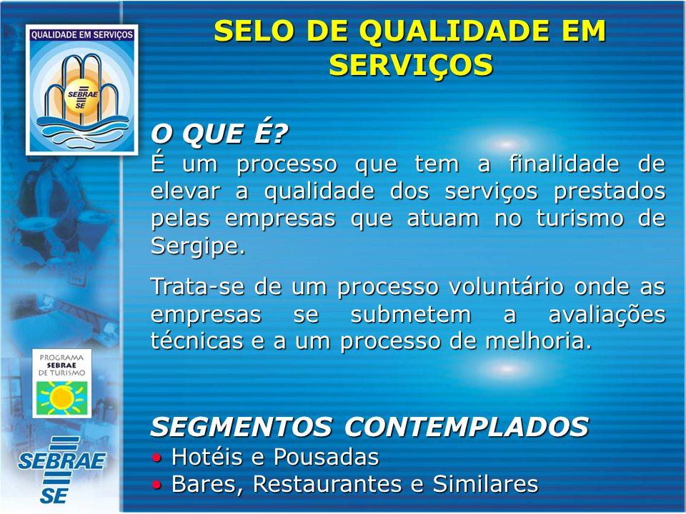 OBJETIVO Avaliar e reconhecer a qualidade dos serviços oferecidos proporcionando uma vantagem competitiva no mercado.