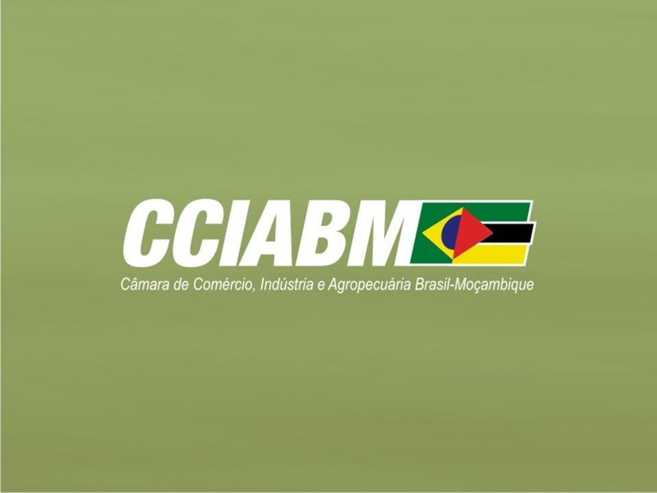 Moçambique – Indicadores Macroeconômicos Ano20062007200820092010 PIB-PPC (US$ Bilhões)16,217,018,120,222,2 PIB Nominal (US$ Bilhões)7,27,89,710,39,9 Crescimento Real do PIB (%)7,98,06,26,08,3 Infla ç ão M é dia Anual (%)8,112,19,83,313,5 Exporta ç ões (US$ Bilhões)2,42,52,72,22,5 Importa ç ões (US$ Bilhões)2,83,03,73,83,5 PIB-PPC Per capita (US$)736,4815,8788,7880,21000,0 Taxa de Cambio Media MT/US$25,5024,0025,0035,8835,00 Fontes: Cia Factbook Brazil Trade Net UN Comtrade