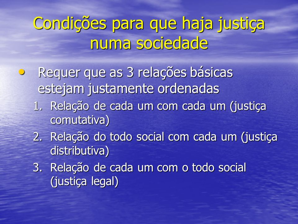 Quadro das 3 relações Indivíduo Todo Indivíduo LegalDistributiva Comutativa