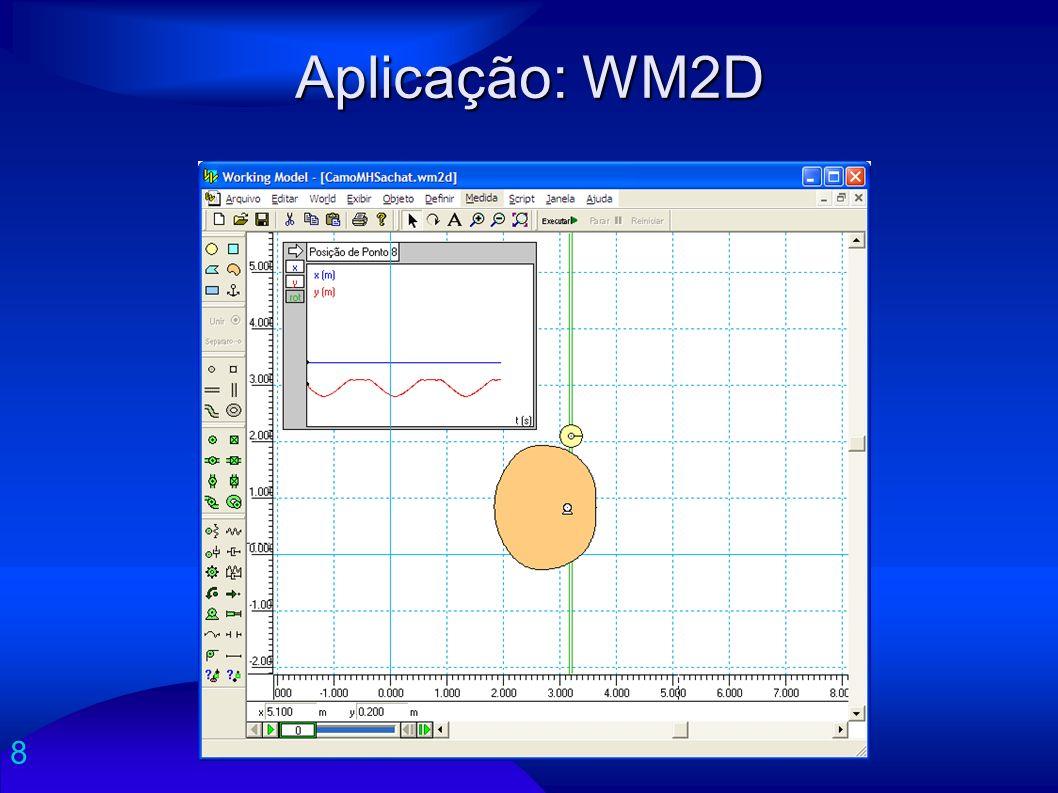 8 Aplicação: WM2D