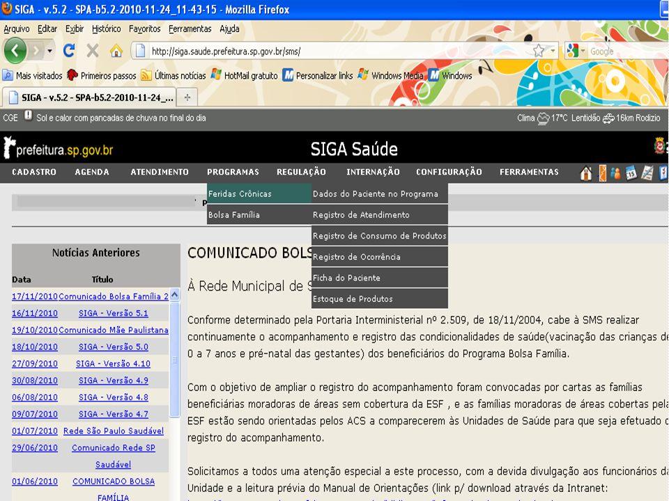 Registro de ocorrência No campo Data, inserir a Data da ocorrência.