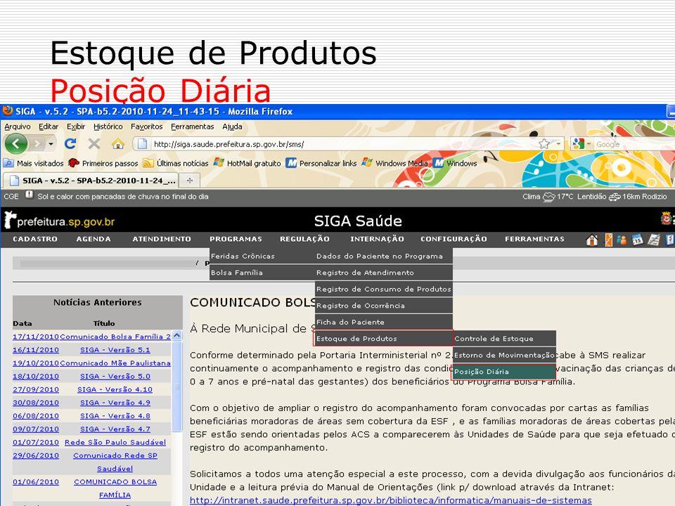 No campo Estabelecimento clique no ícone No campo Produto clique no ícone No campo Status escolha Ativo ou Inativo.