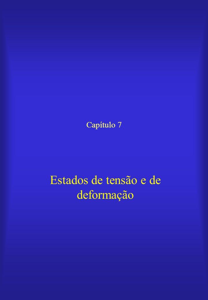 Capítulo 7 Estados de tensão e de deformação