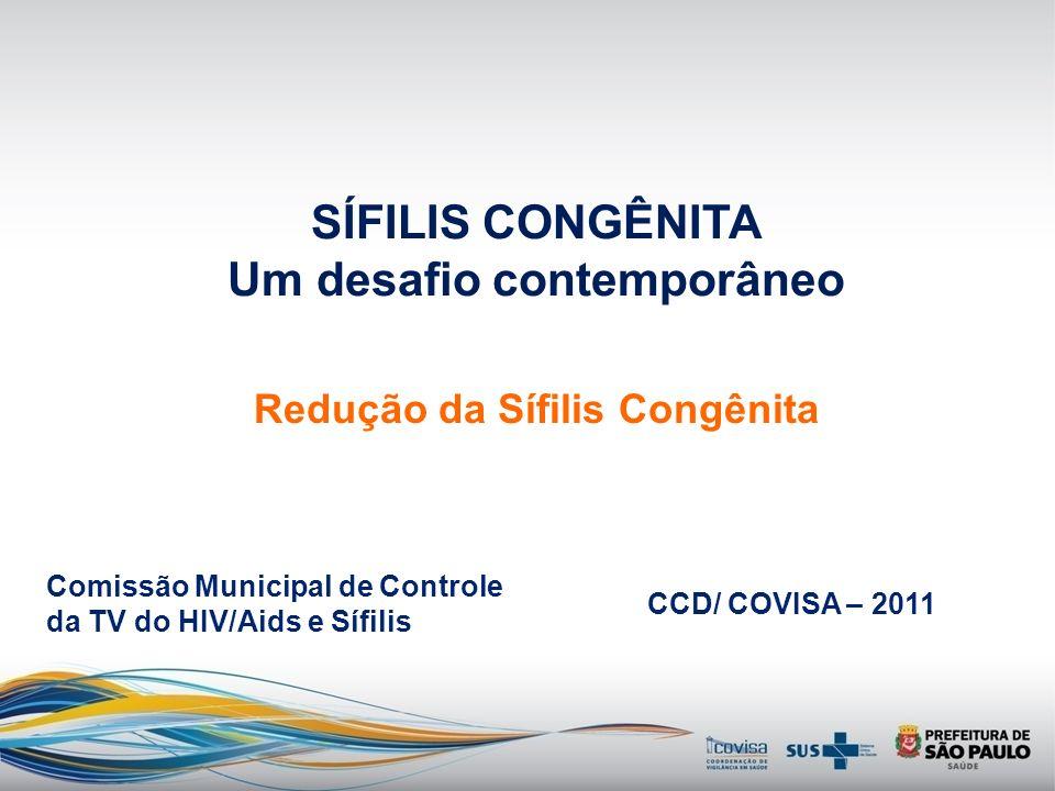 Ficha de Sífilis Congênita A.509 Sinan NET 2008