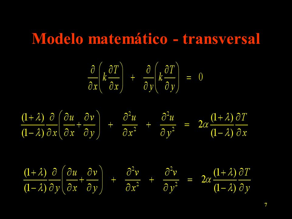 8 Problema térmico - longitudinal gás quente; Taw(z), hg(z),Tg(z), g ambiente externo (Ta, ha, a) isolado k(T) Condução de calor 2D axissimétrica permanente z r T(z,r) = ?