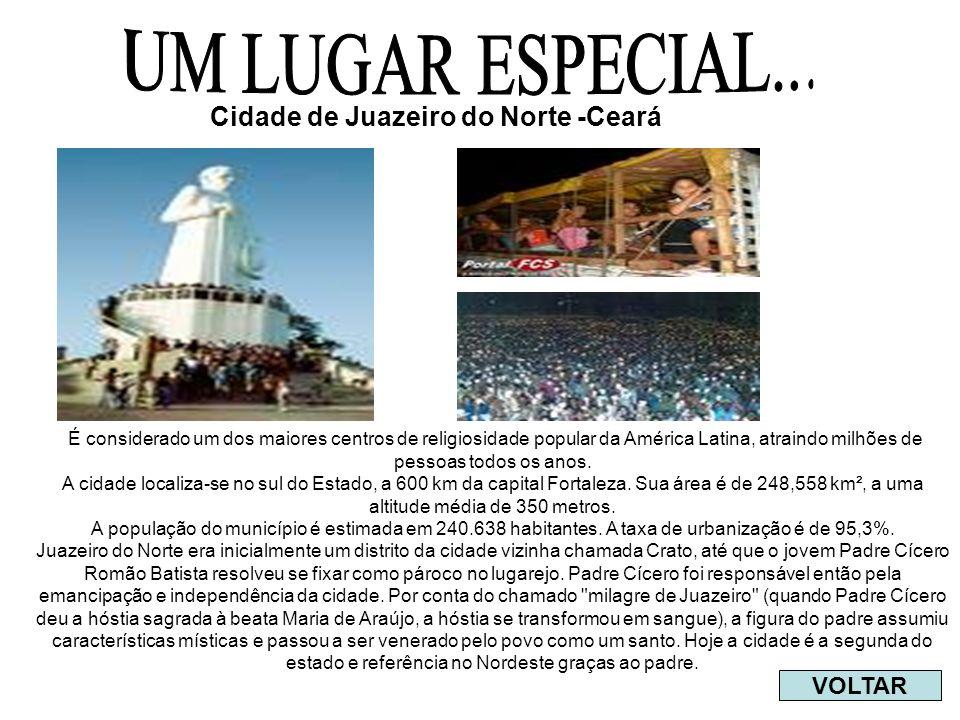 É considerado um dos maiores centros de religiosidade popular da América Latina, atraindo milhões de pessoas todos os anos.