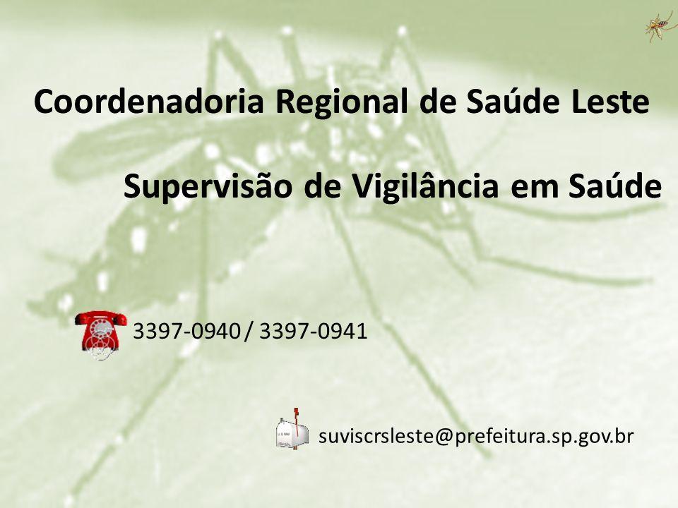 3397-0940 / 3397-0941 suviscrsleste@prefeitura.sp.gov.br