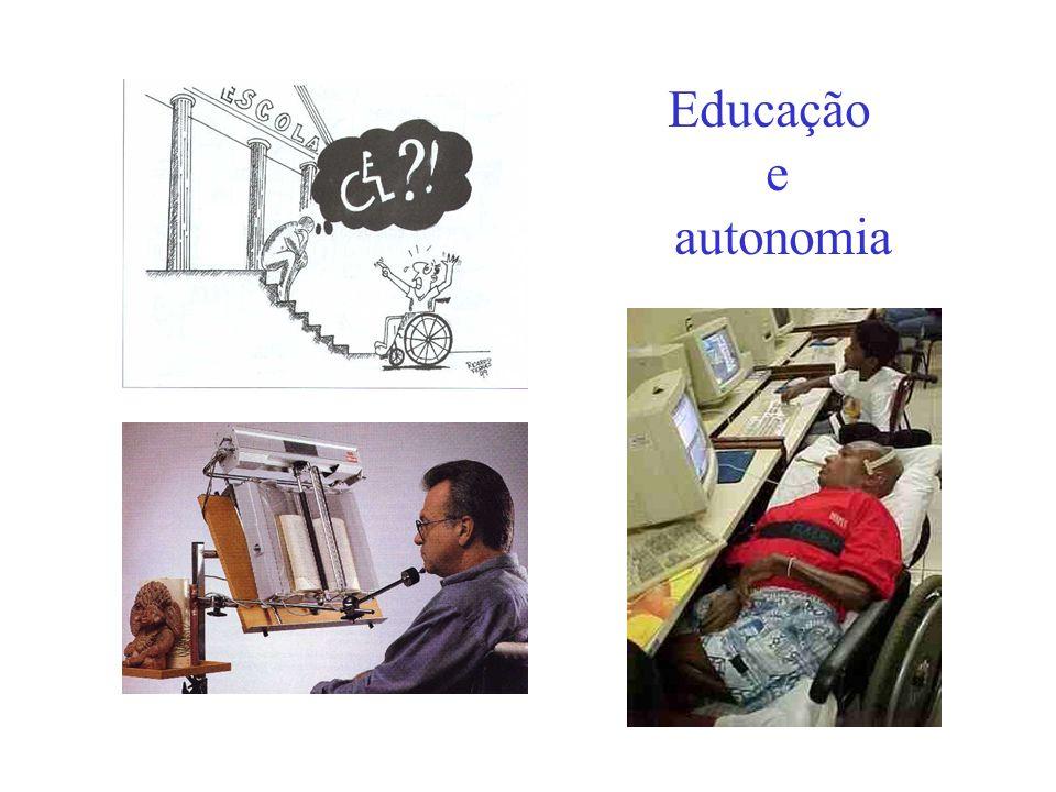 Ergonomia e pessoas com limitações funcionais: Campos de pesquisa - exemplos Tipo de deficiência ou Limitação funcionalTecnologias e Estratégias Defic