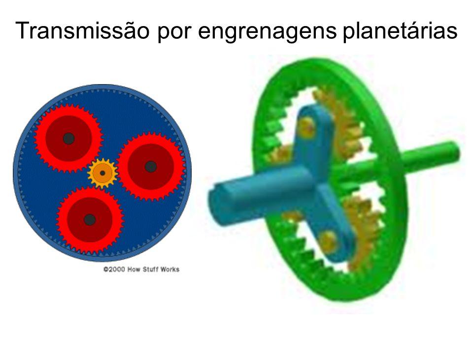 Transmissão por engrenagens planetárias