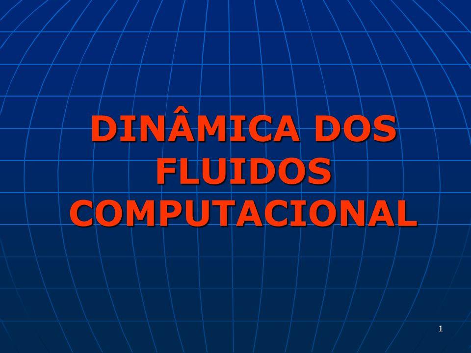 22 Discretização do modelo matemático Os termos das equações do modelo matemático (bem como condições de contorno e iniciais) são aproximados através de um método numérico, gerando um sistema de equações algébricas (discretizadas).