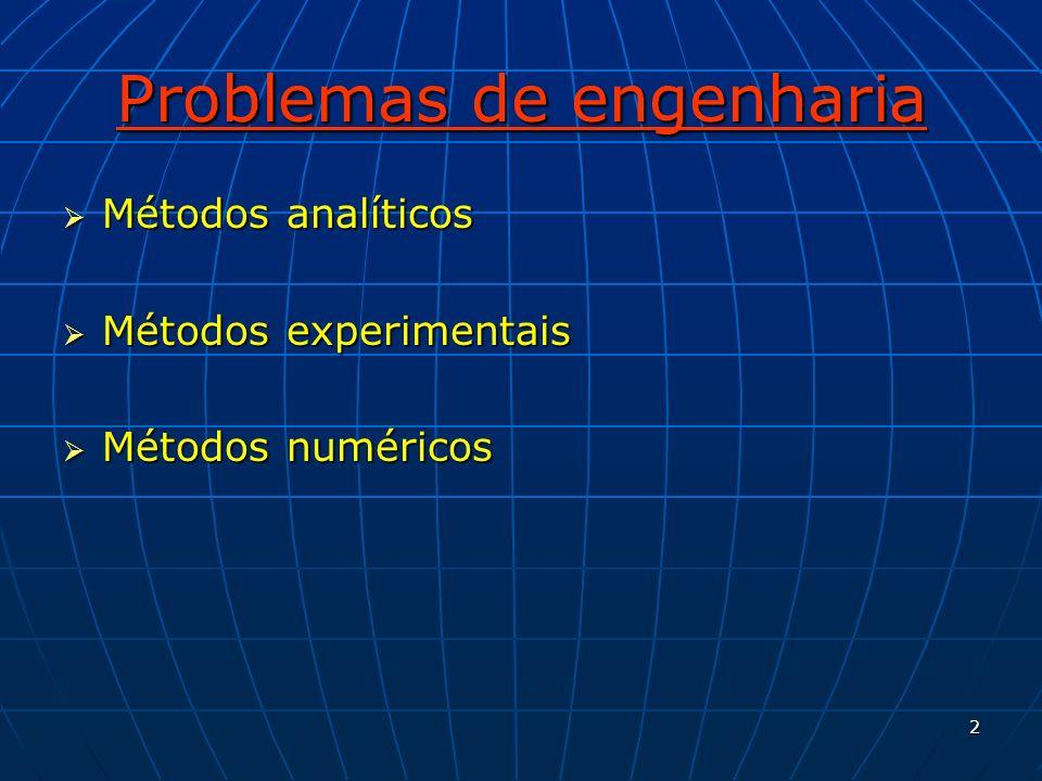 33 Propriedades dos métodos de solução numérica Consistência Consistência A discretização deve ser exata quando o tamanho dos elementos da malha são reduzidos.