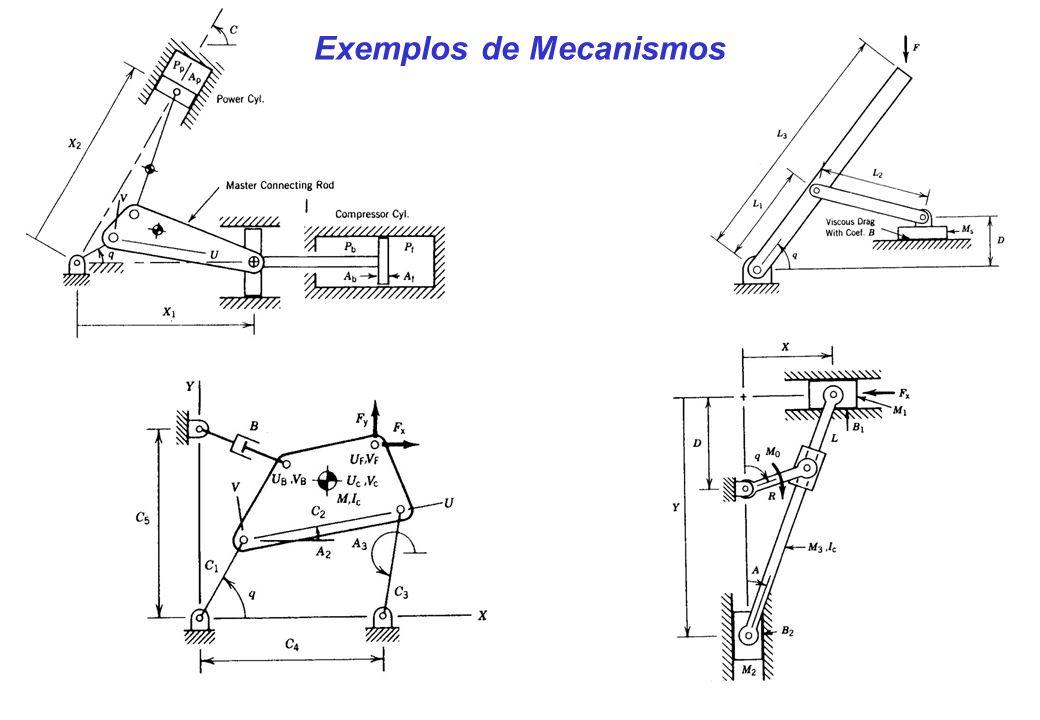 Exemplos de Mecanismos