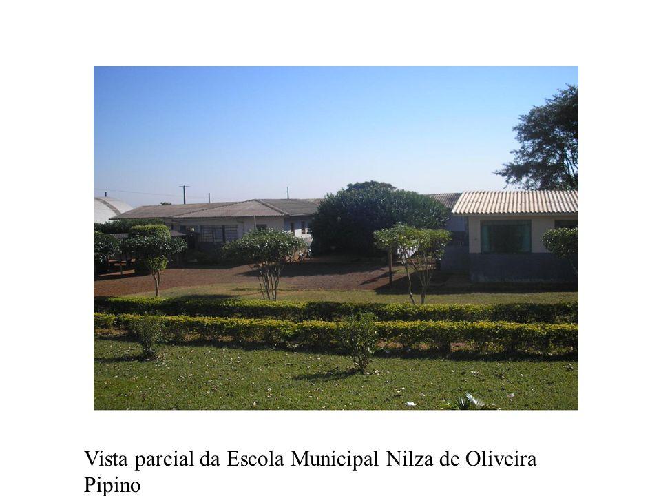 Vista parcial da Escola Municipal Nilza de Oliveira Pipino