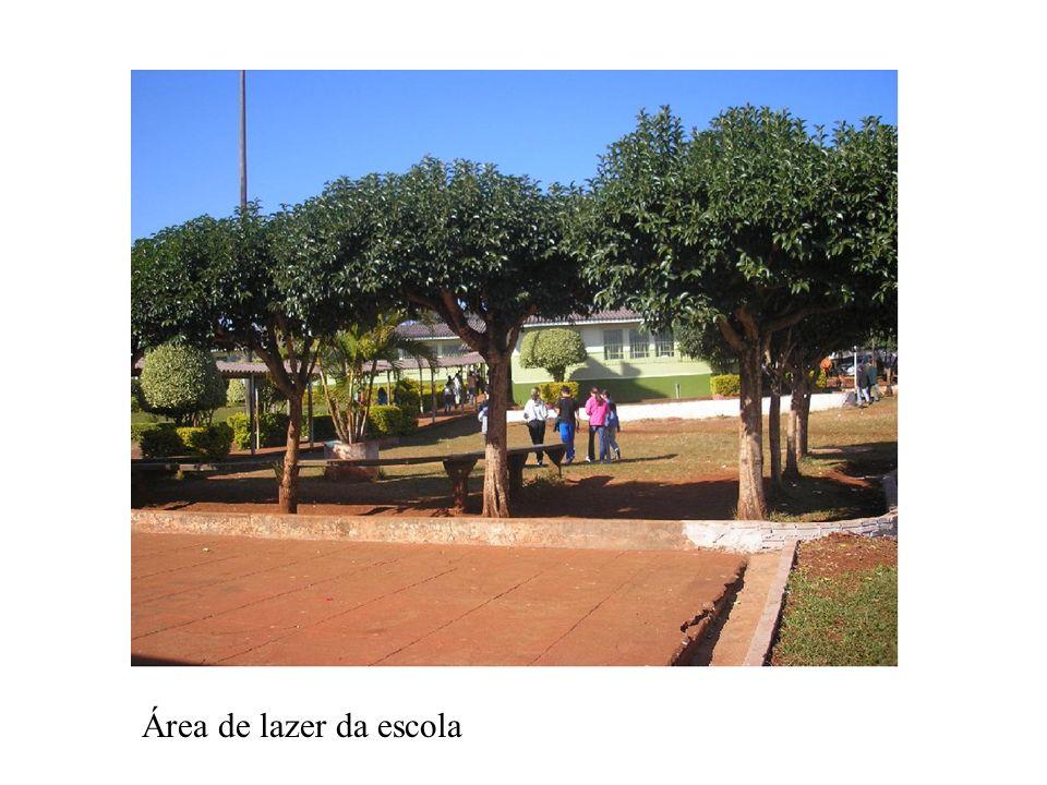 Área de lazer da escola