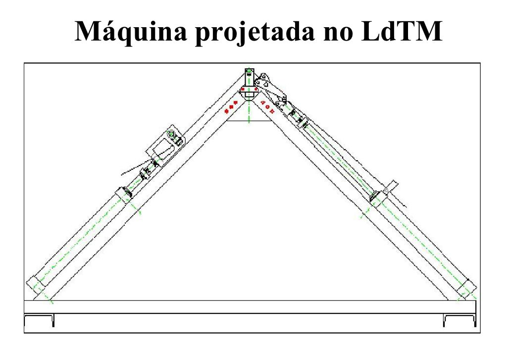 Máquina projetada no LdTM