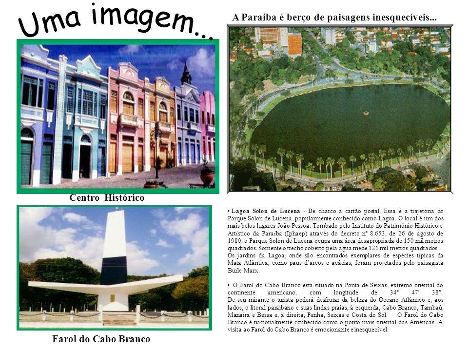 A Paraíba é berço de paisagens inesquecíveis...Lagoa Solon de Lucena - De charco a cartão postal.