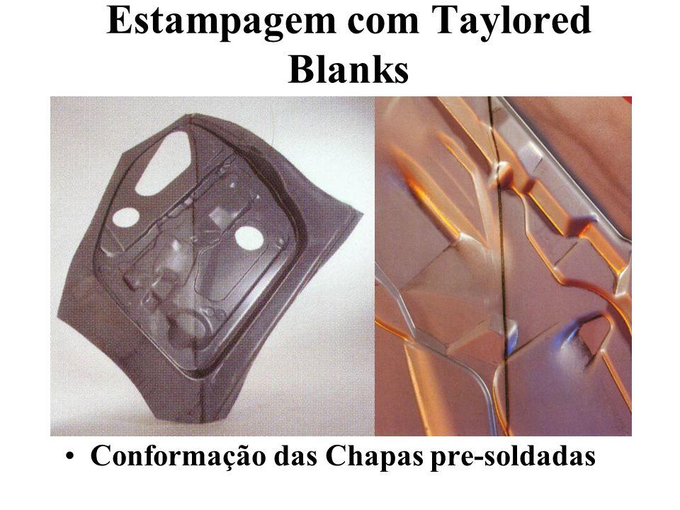 Estampagem com Taylored Blanks Conformação das Chapas pre-soldadas