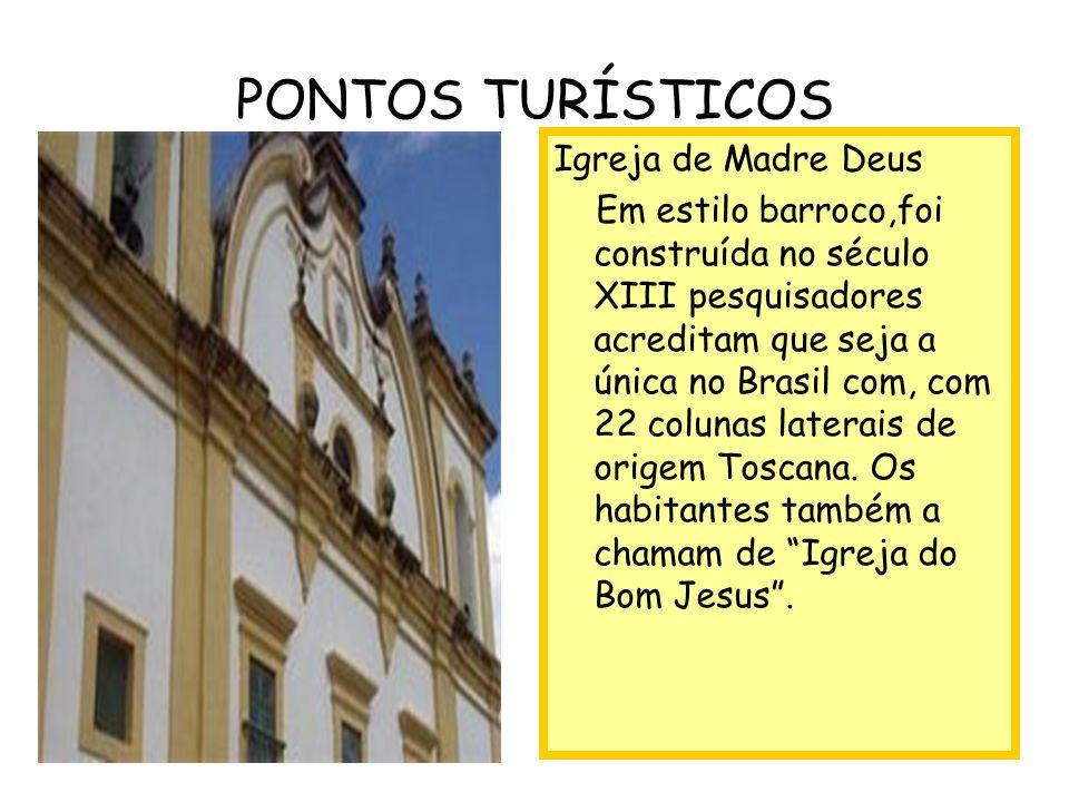 Igreja de pedra Foi construída pelos jesuítas com mão-de- obra indígena no século XIII.É toda em pedras sobrepostas e sem reboco.