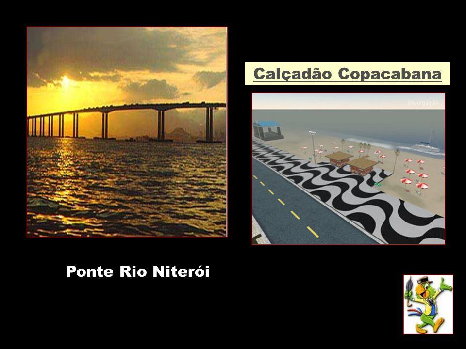 Ponte Rio Niterói Calçadão Copacabana