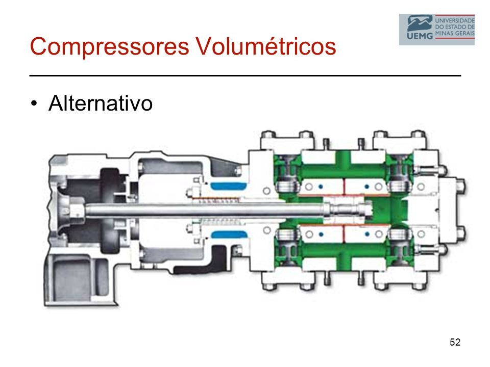 Compressores Volumétricos Alternativo 52