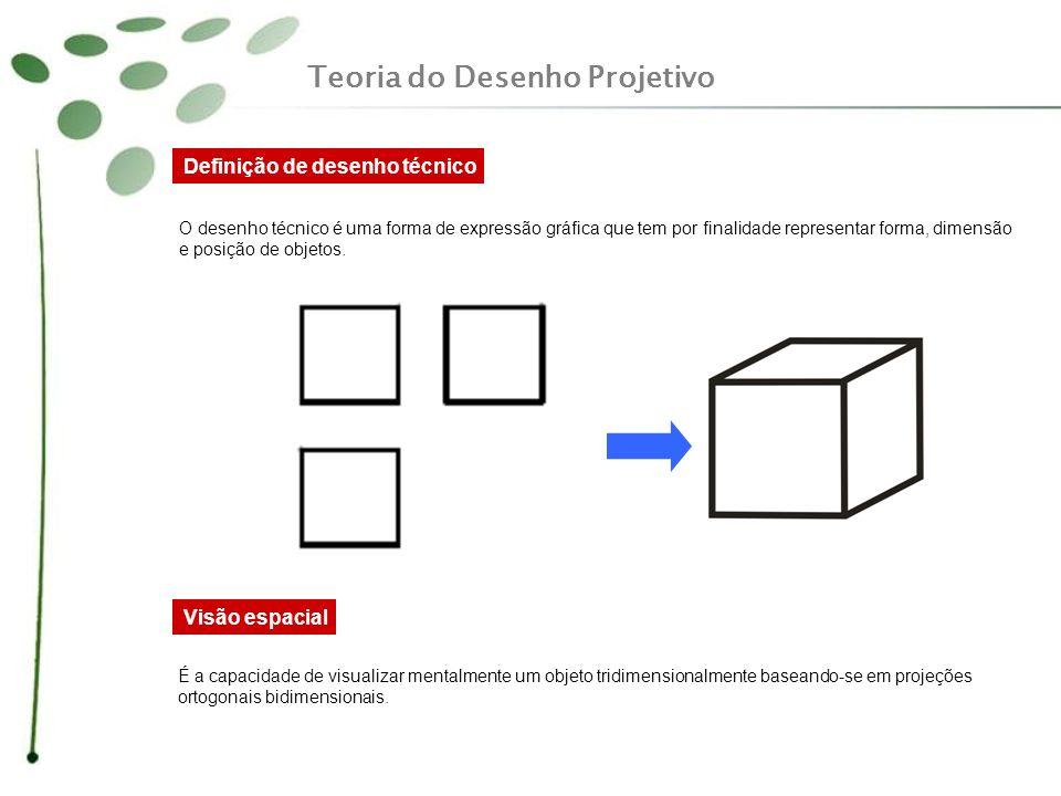 Definição de desenho técnico O desenho técnico é uma forma de expressão gráfica que tem por finalidade representar forma, dimensão e posição de objeto