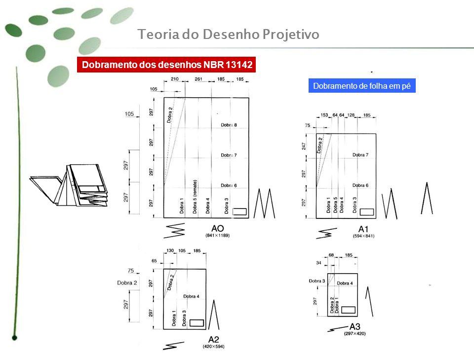 Rebatimento direto da peça no mesmo plano Mais uma vez se conclui que duas vistas, apesar de representarem as três dimensões do objeto, não garantem a representação da forma da peça.