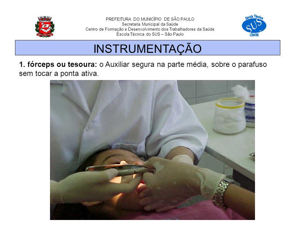 PREFEITURA DO MUNICÍPIO DE SÃO PAULO Secretaria Municipal da Saúde Centro de Formação e Desenvolvimento dos Trabalhadores da Saúde Escola Técnica do SUS – São Paulo 1.