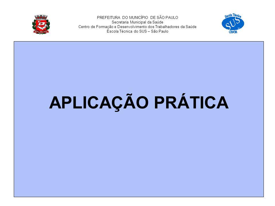 OBRIGADA. ETSUS – CEFOR – SP Rua Gomes de Carvalho no.