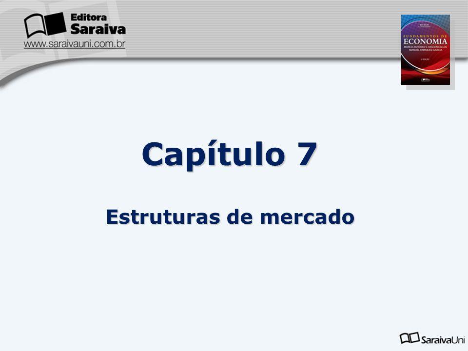 Capítulo 7 Estruturas de mercado