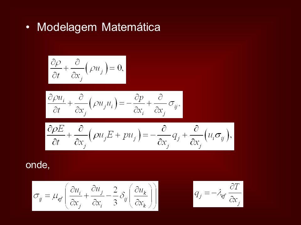 Modelagem Matemática onde,