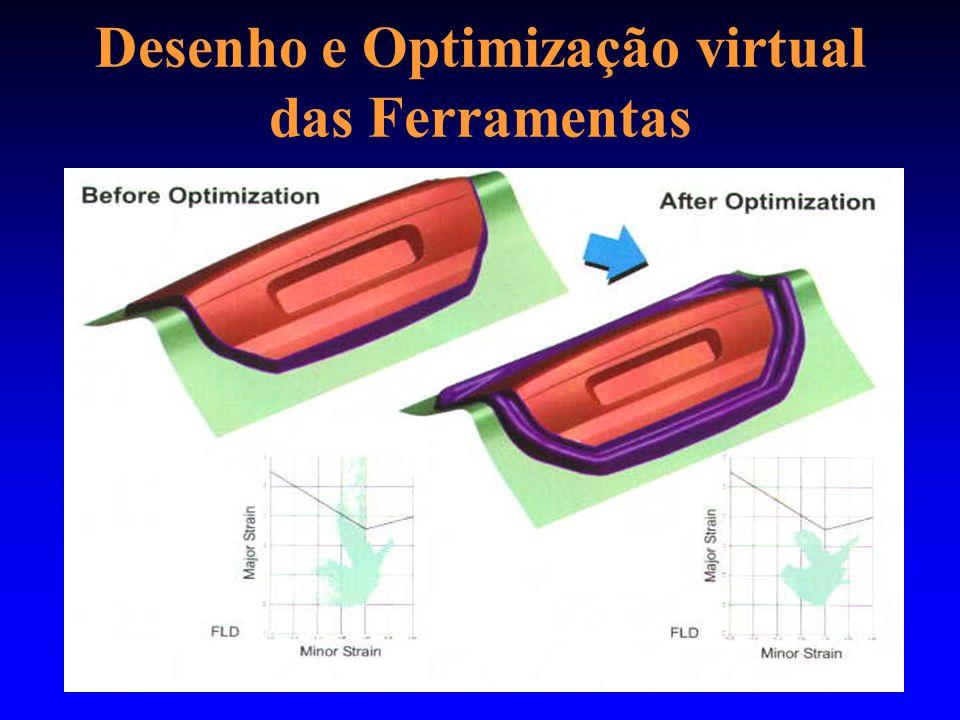 Desenho e Optimização virtual das Ferramentas