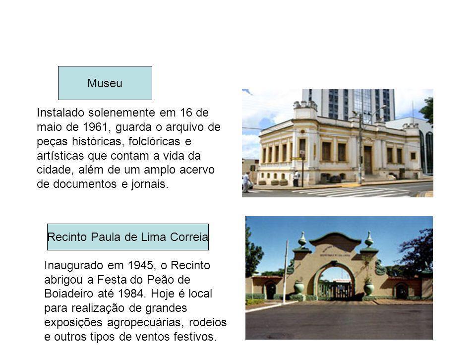 Instalado solenemente em 16 de maio de 1961, guarda o arquivo de peças históricas, folclóricas e artísticas que contam a vida da cidade, além de um am