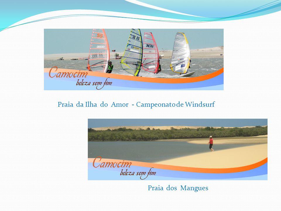 Praia da Ilha do Amor - Campeonato de Windsurf Praia dos Mangues